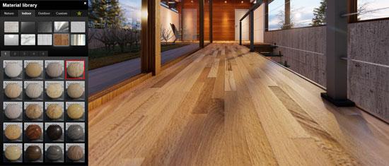 lumion-calepinage-textures-architectes