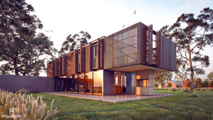 rendu-lumion-projet-bardage-architecte